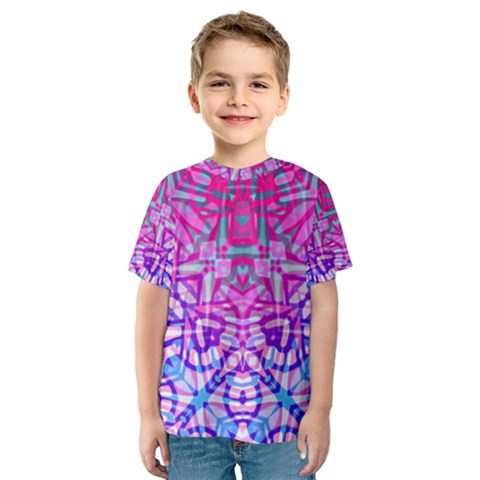 Ethnic Tribal Pattern G327 Kid s Sport Mesh Tees by MedusArt