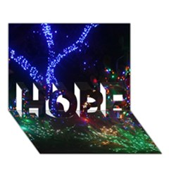 Christmas Lights 2 Hope 3d Greeting Card (7x5)  by trendistuff