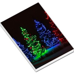 Christmas Lights 1 Large Memo Pads by trendistuff