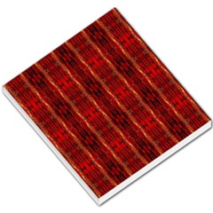 Red Gold, Old Oriental Pattern Small Memo Pads by Costasonlineshop