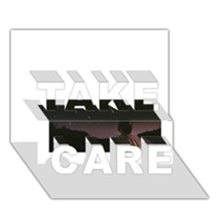 The Fallen Take Care 3d Greeting Card (7x5)  by Naturesfinest