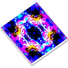 Animal Design Abstract Blue, Pink, Black Small Memo Pads by Costasonlineshop