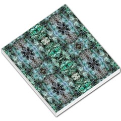 Green Black Gothic Pattern Small Memo Pads by Costasonlineshop