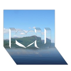 Loch Ness I Love You 3d Greeting Card (7x5)  by trendistuff