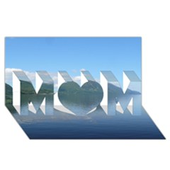 Loch Ness Mom 3d Greeting Card (8x4)  by trendistuff