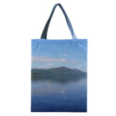 Loch Ness Classic Tote Bags by trendistuff