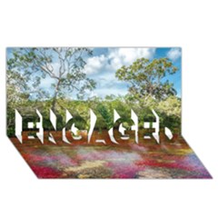 Cano Cristales 3 Engaged 3d Greeting Card (8x4)  by trendistuff