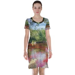 Cano Cristales 3 Short Sleeve Nightdresses by trendistuff