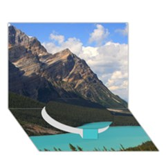 Banff National Park 3 Circle Bottom 3d Greeting Card (7x5)  by trendistuff