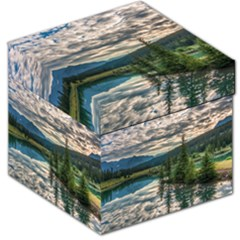 Banff National Park 2 Storage Stool 12   by trendistuff