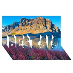 Banff National Park 1 Best Sis 3d Greeting Card (8x4)  by trendistuff
