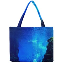 Underwater Trench Tiny Tote Bags by trendistuff