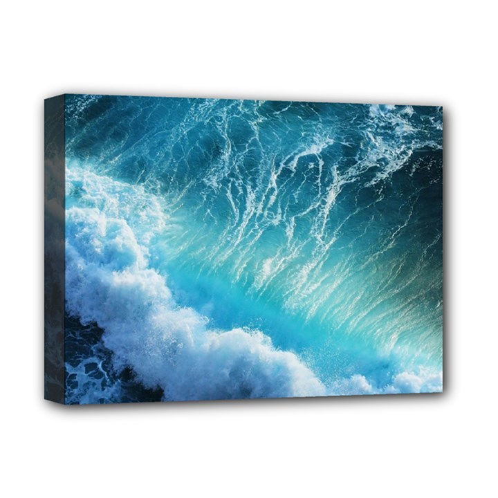 STORM WAVES Deluxe Canvas 16  x 12