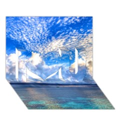 Maldives 1 I Love You 3d Greeting Card (7x5)  by trendistuff
