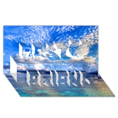 Maldives 1 Best Friends 3d Greeting Card (8x4)  by trendistuff