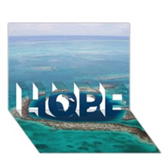 Great Blue Hole 1 Hope 3d Greeting Card (7x5)