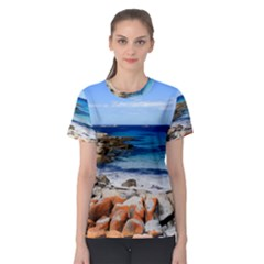 Bay Of Fires Women s Sport Mesh Tees by trendistuff