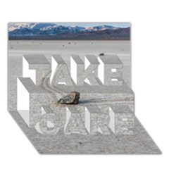 Sailing Stones Take Care 3d Greeting Card (7x5)