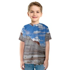 Petrified Forrest Tepees Kid s Sport Mesh Tees