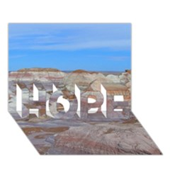 Painted Desert Hope 3d Greeting Card (7x5)  by trendistuff