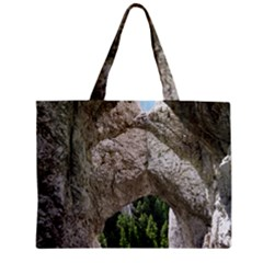Limestone Formations Zipper Tiny Tote Bags by trendistuff