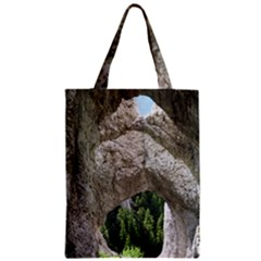 Limestone Formations Zipper Classic Tote Bags by trendistuff