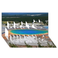 Grand Prismatic Best Wish 3d Greeting Card (8x4)