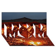 Door To Hell Mom 3d Greeting Card (8x4)  by trendistuff