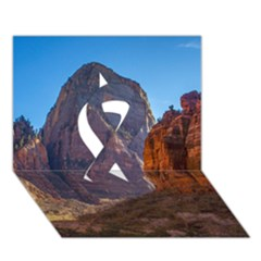 Zion National Park Ribbon 3d Greeting Card (7x5)