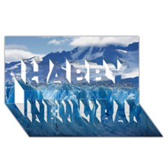 Upsala Glacier Happy New Year 3d Greeting Card (8x4)  by trendistuff