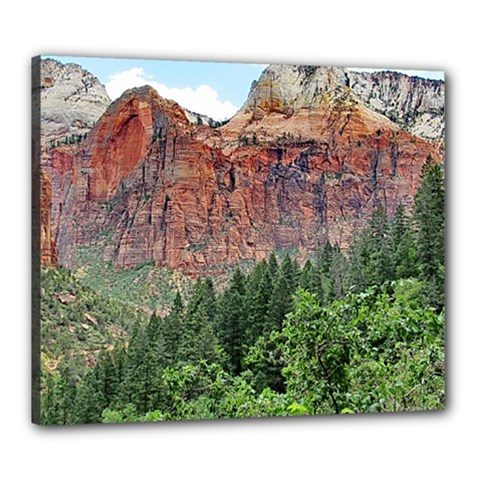 Upper Emerald Trail Canvas 24  X 20  by trendistuff