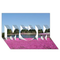 Shibazakura Mom 3d Greeting Card (8x4)  by trendistuff