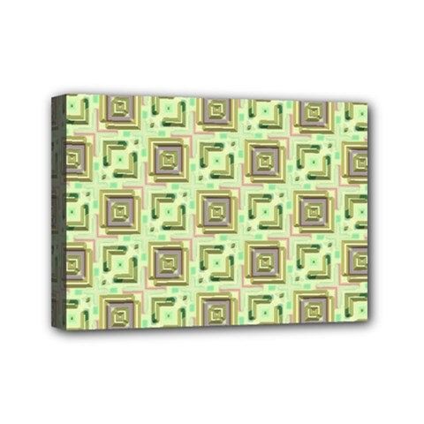 Modern Pattern Factory 04 Mini Canvas 7  X 5  by MoreColorsinLife