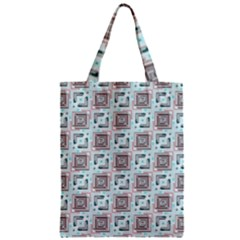Modern Pattern Factory 04b Zipper Classic Tote Bags by MoreColorsinLife