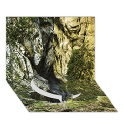 Mountain Path Circle Bottom 3d Greeting Card (7x5)  by trendistuff