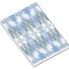 Ice Crystals Abstract Pattern Large Memo Pads by Costasonlineshop