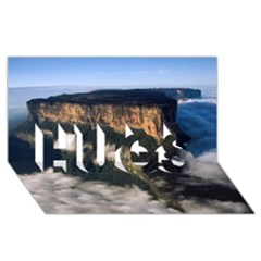 Mount Roraima 2 Hugs 3d Greeting Card (8x4)  by trendistuff