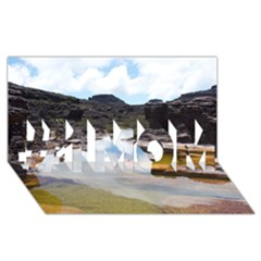 Mount Roraima 1 #1 Mom 3d Greeting Cards (8x4)  by trendistuff