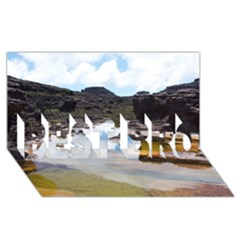Mount Roraima 1 Best Bro 3d Greeting Card (8x4)  by trendistuff