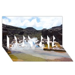 Mount Roraima 1 Best Sis 3d Greeting Card (8x4)  by trendistuff