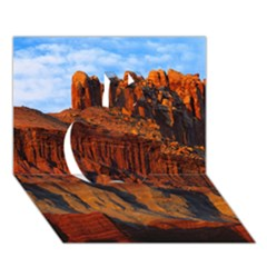 Grand Canyon 3 Apple 3d Greeting Card (7x5)