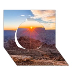 Grand Canyon 1 Circle 3d Greeting Card (7x5)  by trendistuff