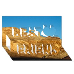 Death Valley Best Friends 3d Greeting Card (8x4)  by trendistuff