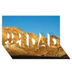 Death Valley #1 Dad 3d Greeting Card (8x4)  by trendistuff