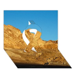 Death Valley Ribbon 3d Greeting Card (7x5)  by trendistuff