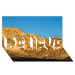 Death Valley Believe 3d Greeting Card (8x4)  by trendistuff