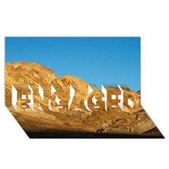 Death Valley Engaged 3d Greeting Card (8x4)  by trendistuff