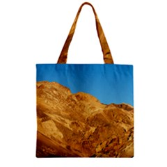 Death Valley Zipper Grocery Tote Bags by trendistuff