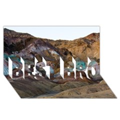 Artists Palette 2 Best Bro 3d Greeting Card (8x4)  by trendistuff
