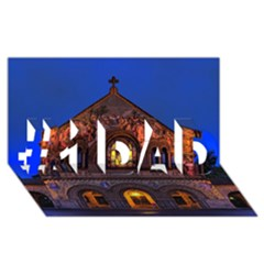 Stanford Chruch #1 Dad 3d Greeting Card (8x4)